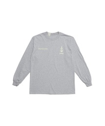 SPRING2021 CREW NECK LONG SLEEVE T-SHIRTトップグレー