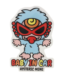 HYSTERIC MINI?医ヲ繧ケ繝?Μ繝?け繝溘ル?峨?縲粂ungry Monster Babys 窶廝ABY IN CAR窶 繧ケ繝?ャ繧ォ繝シ(螟門シオ繧顔畑)?医せ繝?ャ繧ォ繝シ/繝??繝暦シ峨??>  <div class=