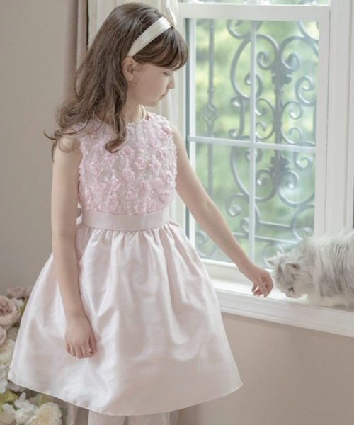 4258f51ad8cc0 Catherine Cottage(キャサリンコテージ)のローズパーティーキッズドレス(ドレス)