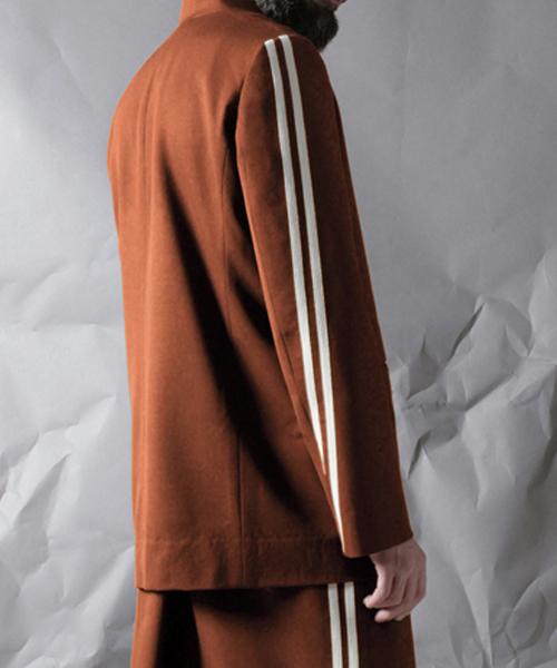 【大特価!!】 【ohta ohta,オータ,Wallace】/ green brown/ brown jacket(ノーカラージャケット)|ohta(オータ)のファッション通販, プチブティック アップル 子供服:4e35b830 --- munich-airport-memories.de