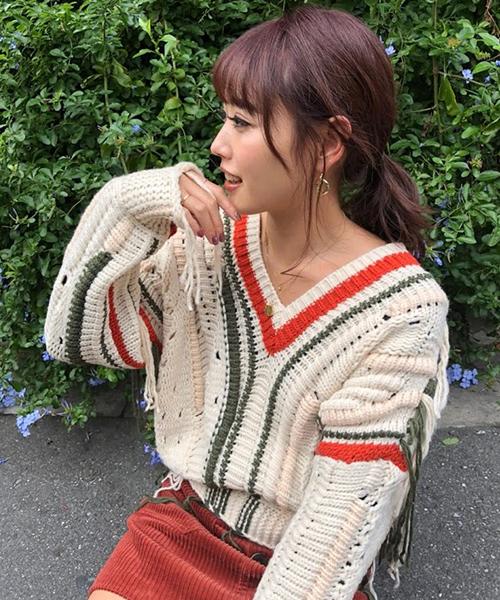 National pattern knit