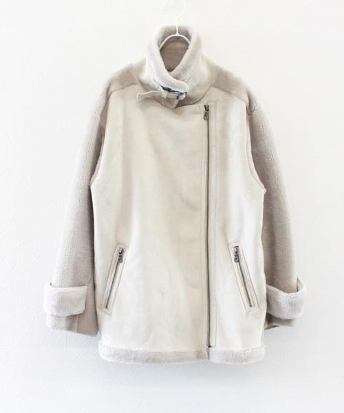 独特な 【セール】フェイクムートンライダースジャケット(ライダースジャケット)|Jines(ジネス)のファッション通販, AMBER:abafb3d2 --- skoda-tmn.ru