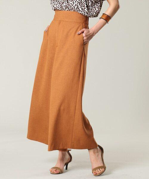 【通販 人気】 リネンライクストレートワイドパンツ(パンツ)|TIARA(ティアラ)のファッション通販, あゆの店きむら:8e1e733b --- 888tattoo.eu.org
