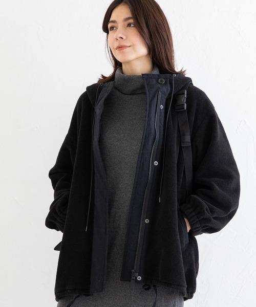 日本初の シープボアフリース モッズブルゾン(モッズコート) Munich(ミューニック)のファッション通販, fofoca:75f0b845 --- 5613dcaibao.eu.org