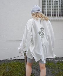FIG&VIPER(フィグアンドバイパー)のローズプリントロンT(Tシャツ/カットソー)