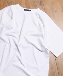 A blends(エイブレンズ)のA-blends エイブレンズ × akiz あきづ キャップショルダーTシャツ 19A-AK1202(Tシャツ/カットソー)