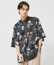 JOHN LAWRENCE SULLIVAN(ジョンローレンスサリバン)の【 JOHN LAWRENCE SULLIVAN】STUDIOUS限定復刻 総柄Flower S/S Shirt(シャツ/ブラウス)