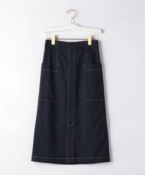 〔ハンドウォッシャブル〕FC HW TC/LI サイドポケット スカート