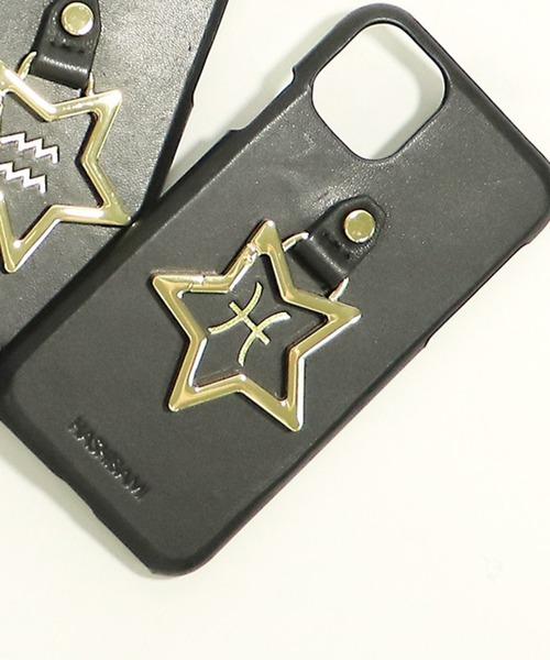 【 Hashibami / ハシバミ 】 別注 iphone11/XR 12星座 スマホ・携帯カバー リング付きケース