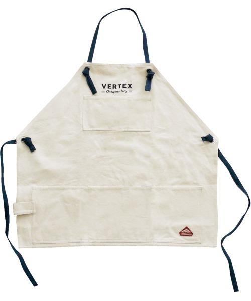 【 VERTEX / ヴァーテックス 】 ワークエプロン  A202 Work apron GDH