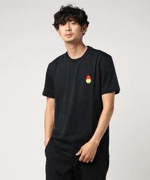 AMI×SMILY ami alexandre mattiussi (アミ アレクサンドル マテュッシ) / SMILY クルーネック Tシャツ(Tシャツ/カットソー)