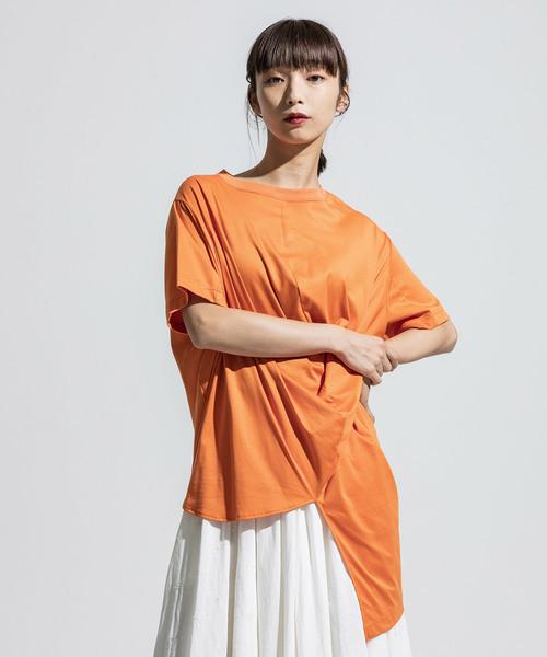 【売れ筋】 short anseason sleeve sleeve ball cut cut sew(Tシャツ/カットソー)|ANREALAGE(アンリアレイジ)のファッション通販, 新居町:1dd0aa8e --- hundeteamschule-shop.de