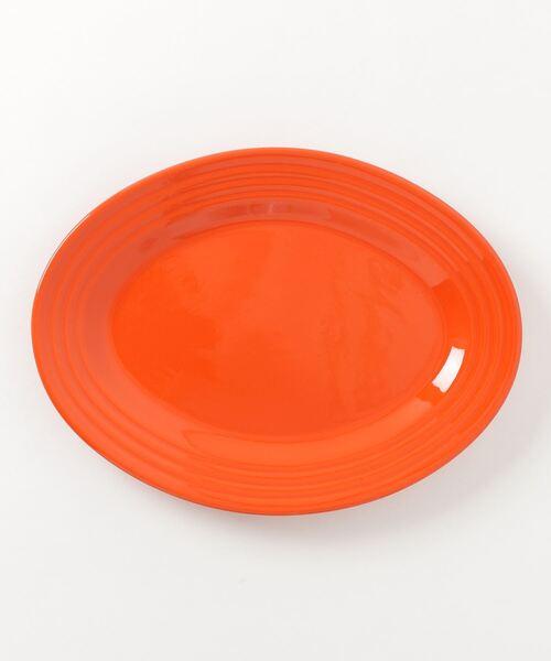 C.E.L.STORE(セルストア)の「BAUER POTTARY/バウアーポッタリー OVAL PLATTER MEDIUM(食器)」|オレンジ