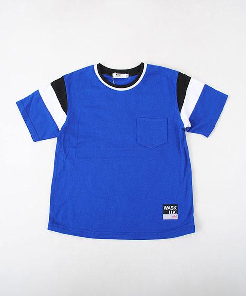 WASK/袖ラインビッグTシャツ(110cm~130cm)