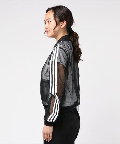 【adidas/アディダス】透けブルゾン