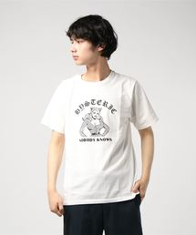 NOBODY KNOWS pt Tシャツホワイト