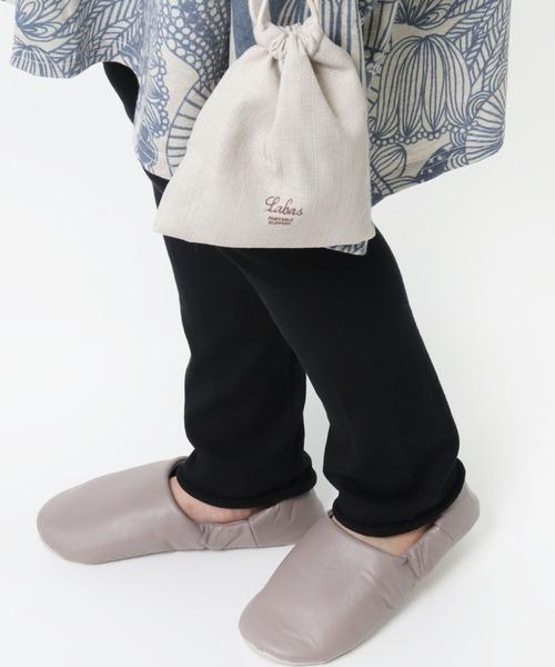 【 Labas / ラバス 】携帯用 スリッパ バブーシュ Portable slippers  ポータブルスリッパ A434 slippers GDH