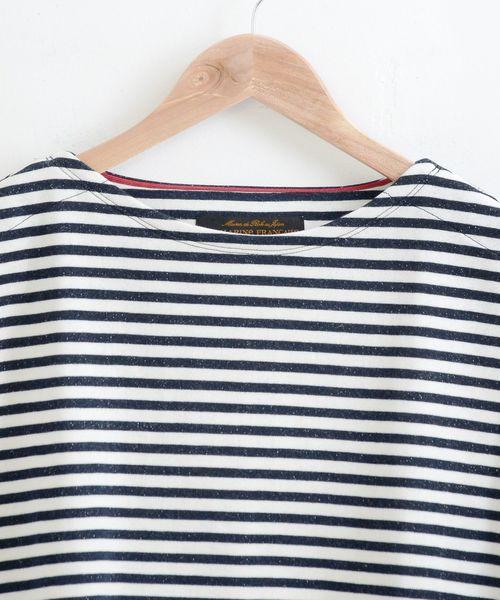 吊裏毛 オーバーサイズ7分袖T