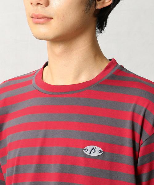 ボーダースリーブTシャツ