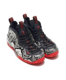NIKE(ナイキ)のNIKE AIR FOAMPOSITE ONE (SAIL/BLACK-HABANERO RED-BLACK) 【SP】(スニーカー)