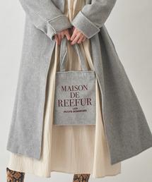MAISON DE REEFUR(メゾンドリーファー)のベロア トート バッグ S(トートバッグ)