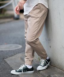 MANGROVE(マングローブ)の【MANGROVE】ハイパーストレッチツイルジョガーパンツ(パンツ)