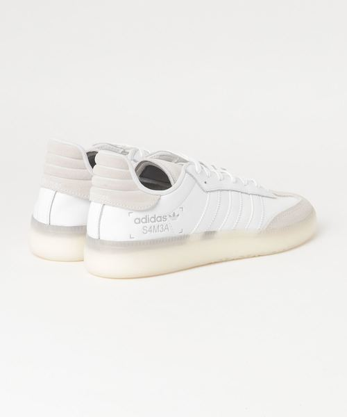 adidas Originals / SAMBA RM (FTWR WHITE/FTWR WHITE/GREY TWO F17)