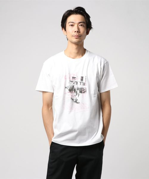 WEGO/ガールズフォトボックスTシャツ