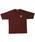 FAT(エフエイティー)の「POWELTA(Tシャツ/カットソー)」|ブラウン