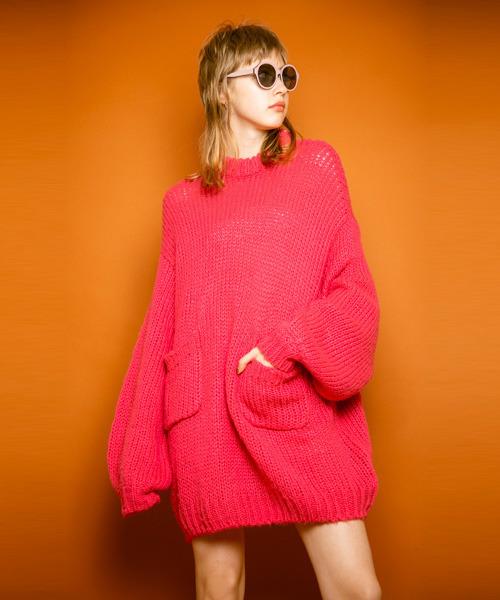 第一ネット 【セール】ROUGH FABRIC FABRIC ニット(ニット/セーター) ,ROUGH Candy Stripper(キャンディストリッパー)のファッション通販, 鷹雅堂1004:6027b87a --- hundefreunde-eilbek.de