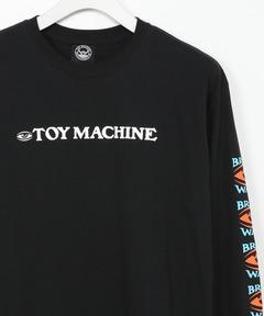 トイマシーン TOY MACHINE / BRAINWASH LONG TEE