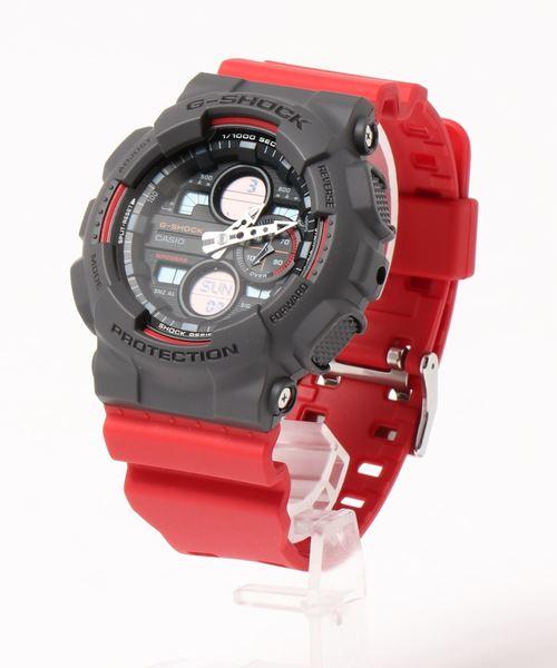 G-SHOCK(ジーショック)の「'G-SHOCK' デジアナコンビ 【海外モデル】(デジタル腕時計)」|レッド