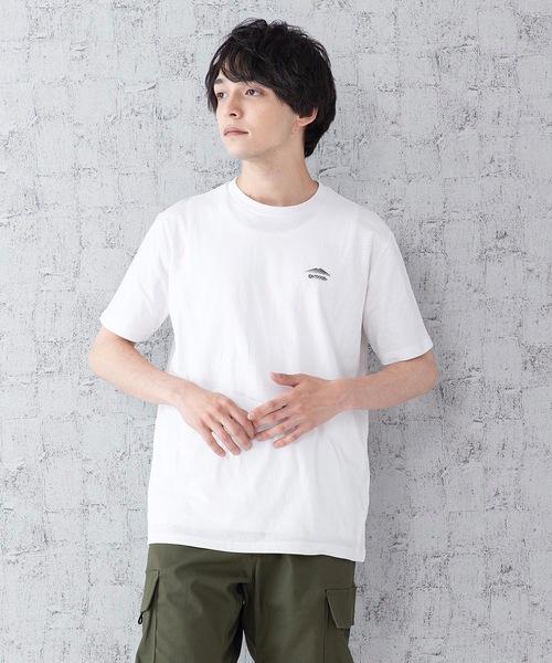 防蚊加工 ワンポイントブランドロゴTシャツ