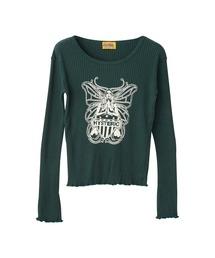 BUTTERFLY Tシャツグリーン