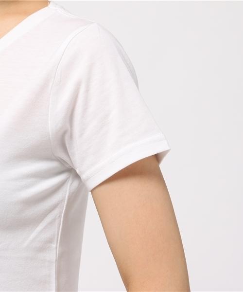 B+グラスプリントTシャツ
