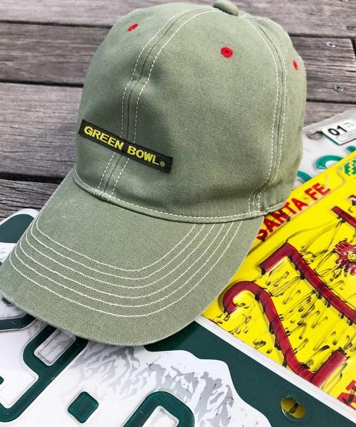 GREEN BOWL(グリーンボウル)の「GREEN BOWL Baseball Cap/グリーンボウルベースボールキャップ(キャップ)」|ライトカーキ