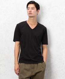 [ドライグリーン] KC ◎DRY/G Vネック S/S Tシャツ ◆