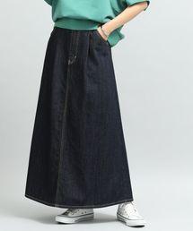 Lee(リー)の【泉里香さん着用】【Lee×ViS】デニムマキシスカート(デニムスカート)