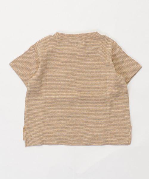 マルチモクボーダーフライスBIGポケ 半袖 Tシャツ