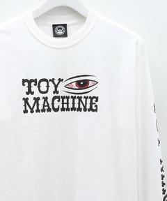 トイマシーン TOY MACHINE / BLOOD SHOT LONG TEE