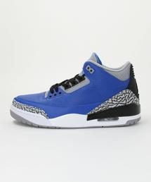 NIKE(ナイキ)AIR JORDAN 3 RETRO BLUE CEMENT■■■