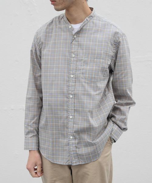 GYMPHLEX/ジムフレックス チェックシャツ T/C CHECK SHIRT J1352