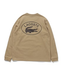 LACOSTE(ラコステ)のLACOSTE × BEAMS / 別注 Big Croco Long Sleeve T-shirt(Tシャツ/カットソー)