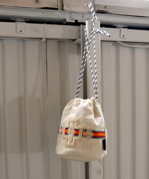 【PENDLETON/ペンドルトン】エンブレム巾着バッグ
