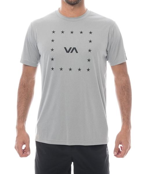 RVCA SPORT メンズ  VA CORNERS SS ハイブリッドTシャツ