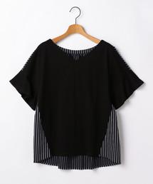 soffitto(ソフィット)のSoffitto/異素材使いプルオーバー(Tシャツ/カットソー)