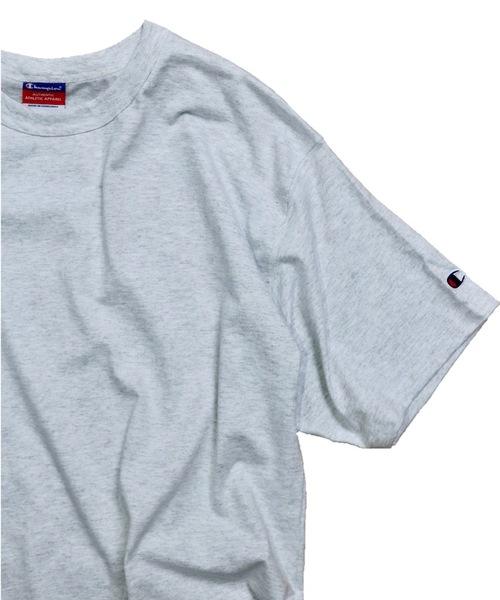 Champion(チャンピオン)の「【ZOZOTOWN限定】CHAMPION/チャンピオン 7OZ HEAVY WIDE TEE(Tシャツ/カットソー)」 ライトグレー