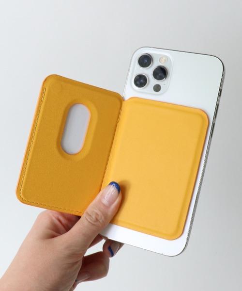 iphone12 mugsafe レザーウォレット YEP092 YUI・・