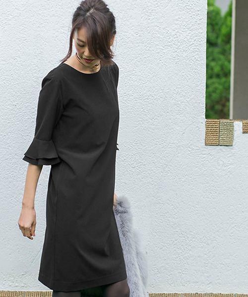 大流行中! アンブレラスリーブシンプルひざ丈の結婚式お呼ばれオケージョンフォーマル対応ワンピースドレス(ドレス)|darial(ダリアル)のファッション通販, 貸衣装ネット便:8cb2731a --- 5613dcaibao.eu.org