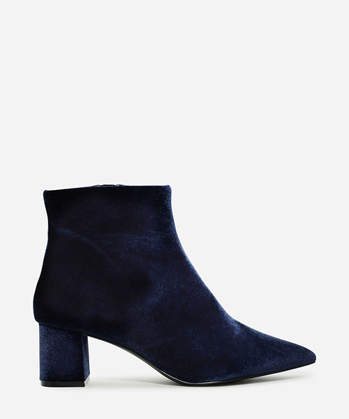 CHARLES & KEITH(チャールズ & キース)の「ポイントアンクルブーツ / POINTED ANKLE BOOTS(ブーツ)」|ブルー